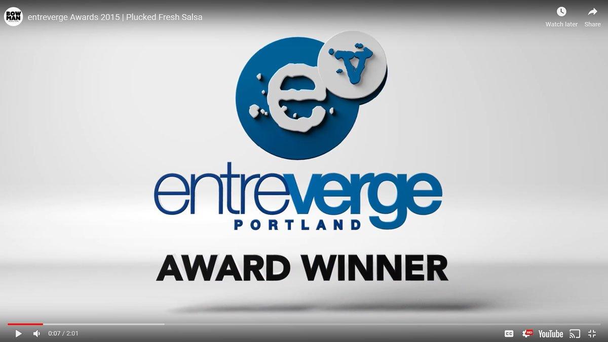 Plucked Salsa Entreverge Portland Maine award winner