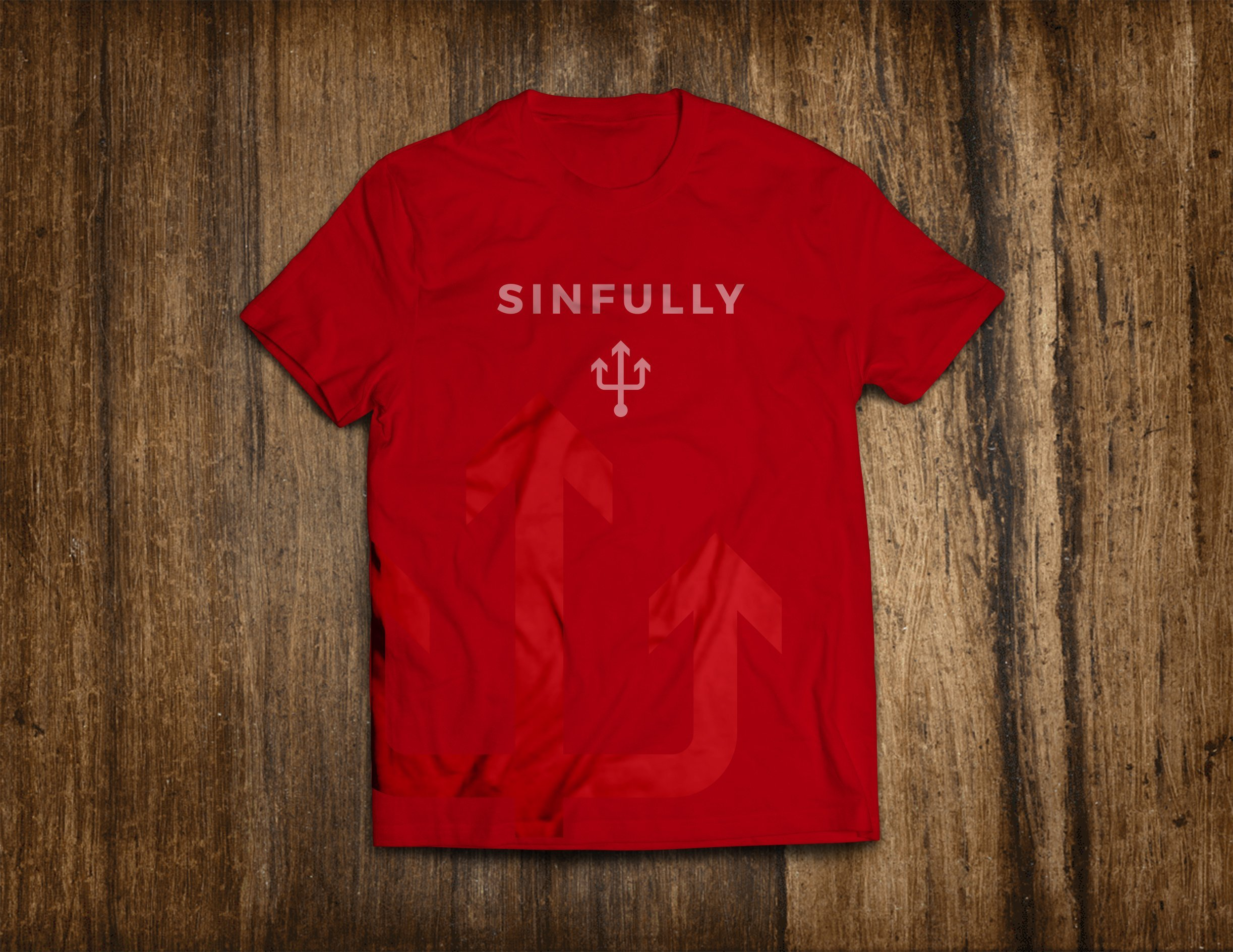 PluckedT-ShirtMockUp_Front_red-sinfully