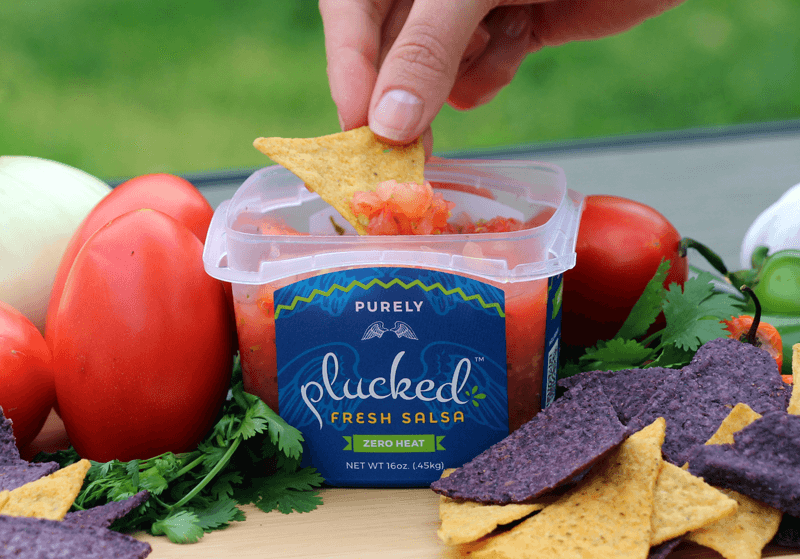 Purely Plucked Chip Dip