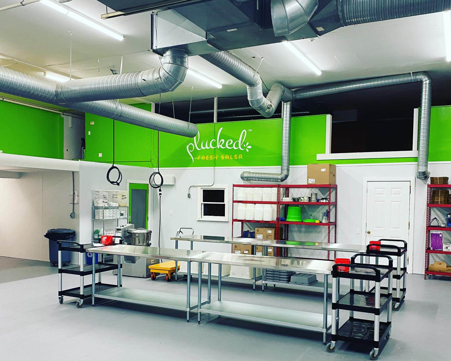 Plucked Fresh Salsa Kitchen and Production Facility